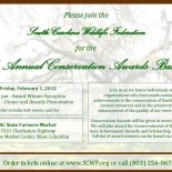 SCWF 48th Annual Conservation Awards Banquet