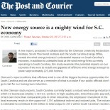 New Energy Source is a Mighty Wind for S.C. Economy