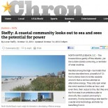 A Coastal Community Looks out to Sea and Sees the Potential for Power