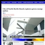 City of North Myrtle Beach Explores Green Energy Option
